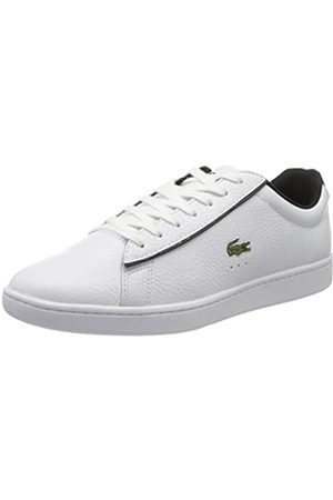 Lacoste Men's Carnaby Evo 120 2 SMA Trainers, (Wht/Blk 147)