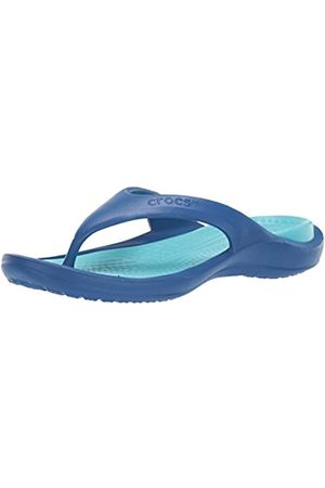 Crocs Unisex Adults' Athens Flip Flops, ( Jean/Pool 4io)