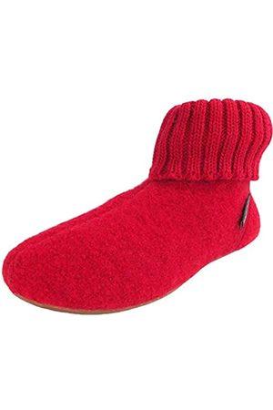 Haflinger Unisex Adults' Everest Karlo Hi-Top Slippers, (Anthrazit 04)