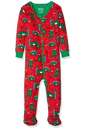 Hatley Baby Girls' Organic Cotton Footed Sleepsuit