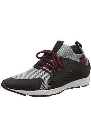 HUGO Men's Hybrid_Runn_knbc Low-Top Sneakers, (Dark 021)