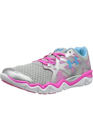 Under Armour Womens UA W Micro G Monza NM-MSV/PKA/PIB Running Shoes Silber (Met /Pinkadelic/Pirate 099) Size: 6.5