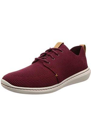 Clarks Men's Step Urban Mix Low-Top Sneakers, (Burgundy -)