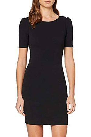 Dorothy Perkins Women's Short Puff Sleeve Bodycon Mini Dress