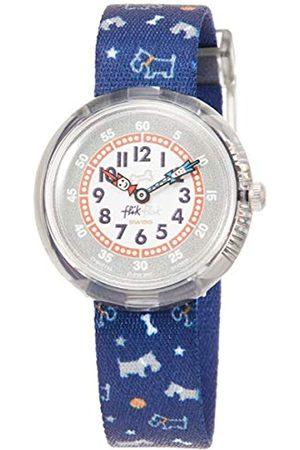Flik Flak Boys' Analogue Quartz Watch with Textile Strap FBNP100