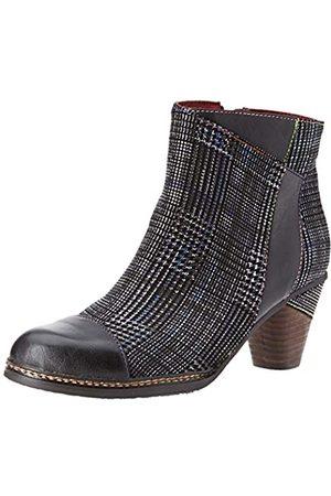 Laura Vita Women's Alcizeeo 06 Ankle Boots, (Noir Noir)