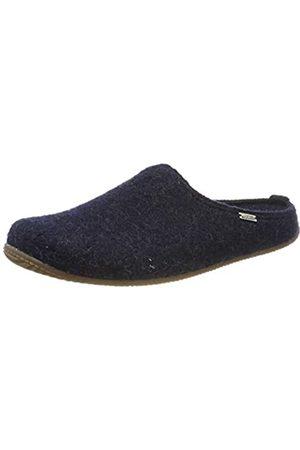 Living Kitzbühel Men's Pantoffel Unifarben mit Fußbett Open Back Slippers, (Nachtblau 590)