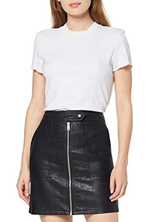 ONLY Women's Onlerica Faux Leather Skirt OTW