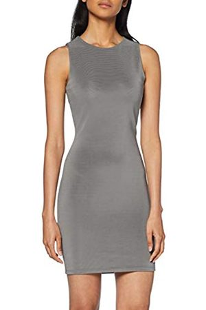 Yargıcı Womens 9YKEL7135X Bodycon Round Collar Sleeveless Dress - - 10