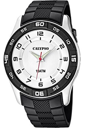 Calypso Men Watches - Men's Quartz Watch with Dial Analogue Display and Plastic Strap K6062/3
