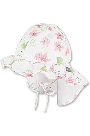 Sterntaler Baby Girls' Sun hat with Neck Protection