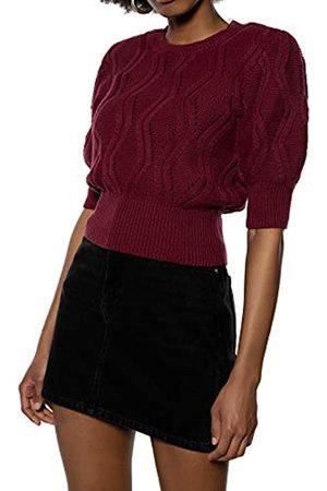 Ivy Revel DE Women's Short Sleeve Cotton Knit Sports Knitwear