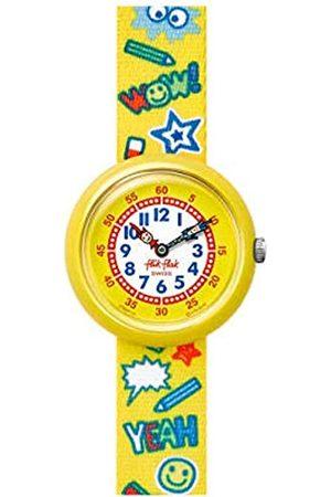 Flik Flak Boys Analogue Quartz Watch with Textile Strap FBNP134