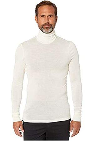 Hanro Men's Woolen Silk Rollkragenshirt Thermal Top