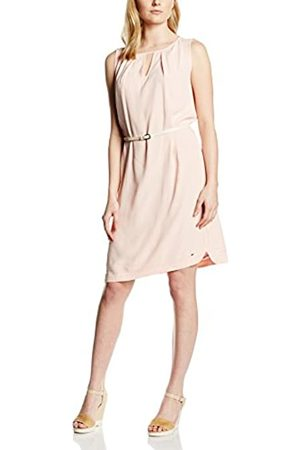 Tommy Hilfiger Women's EMILLE DRESS NS Knee-Length Pencil Dress, - Rosa (PEACH PEARL 683)