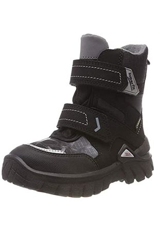 Superfit Boys' Pollux Snow Boots, (Schwarz/grau 00 00)