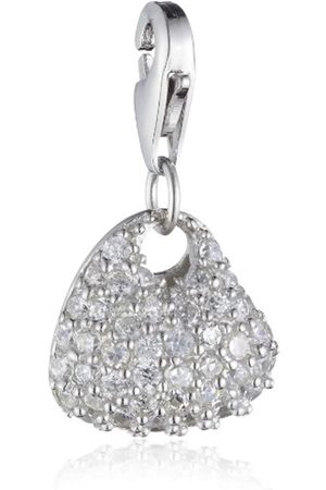Zimtstern Women's Charm Heart with Stones PS00509