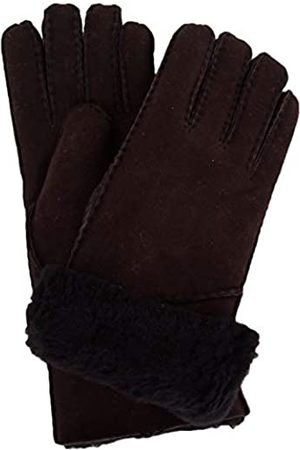 SNUGRUGS Women's Vicky, Sheepskin Glove with Fold Back Cuff