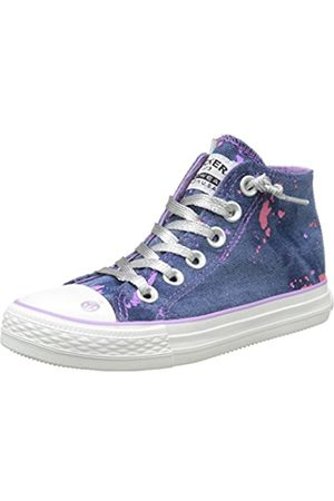 Dockers 38ay634-730600, Unisex Kids' Hi-Top Sneakers, (Blau 600)