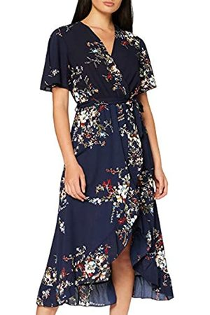 Mela Women's Dipped Hem Maxi Dress Cocktail