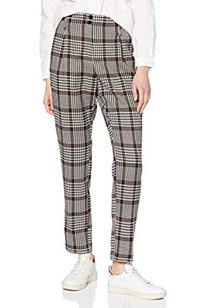 Dorothy Perkins Women's High Waisted Check Trousers