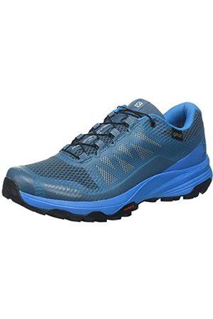 Salomon Women's XA DISCOVERY GTX W, Trail Running Shoes, Waterproof, Mallard /Hawaiian Surf/Bluestone