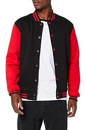Build Your Brand Men's Sweat College Jacket