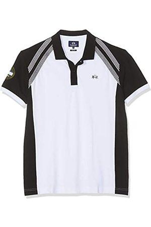 La Martina Men's Man Polo S/s Piquet No Stretch Shirt