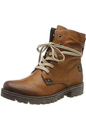 Rieker Women's Herbst/Winter Ankle Boots, (Cayenne/Kastanie 24)
