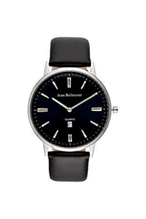 Jean Bellecour Unisex Adult Analogue Quartz Watch with Leather Strap JBN30