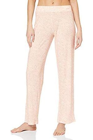 Skiny Women's Damen Pyjama Hose Lang Nature Love Sleep Bottoms