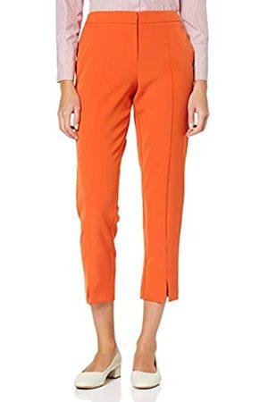 Dorothy Perkins Women's Split Front Pumpkin Trousers