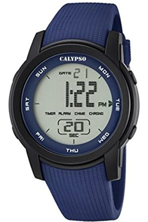 Calypso Unisex Digital Watch with LCD Dial Digital Display and Plastic Strap K5698/2