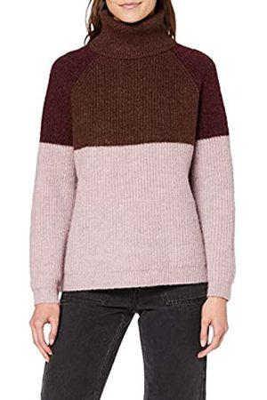 ONLY Women's Onlfcora L/s Highneck Pullover KNT Jumper