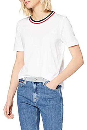 Tommy Hilfiger Women's TH Essential C-NK TOP SS Sports Knitwear