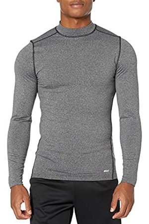 Amazon Control Tech Thermal Long-sleeve Mock Shirt Charcoal Heather