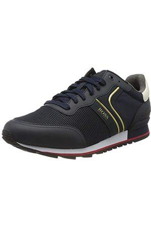 HUGO BOSS Men's Parkour_Runn_strb 10214663 01 Low-Top Sneakers, (Dark 401)