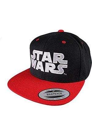 Star Wars Men's Logo Flat Cap, Black/Red