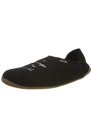 Living Kitzbühel Unisex Adults' Pantoffel use Your Smile. Open Back Slippers, (Schwarz 0900)