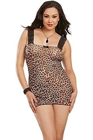 Dreamgirl Women's Stretch mesh Sexy Chemise Negligee