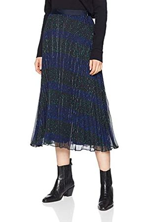 Tommy Hilfiger Women's Luna Midi Skirt, (Allover Star PRT/ Beauty 058)