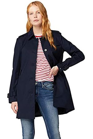 Tommy Hilfiger Women's Heritage Single Breasted Trench Coat Long Sleeve Coat