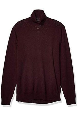 Goodthreads Merino Wool Turtleneck Sweater Burgundy