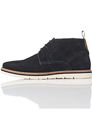 FIND Men's Sports Wedge Chukka Boots (Navy) 10.5/11 UK (45 EU)