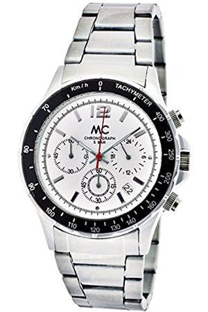 MC Men's Quartz Watch 27647 with Metal Strap