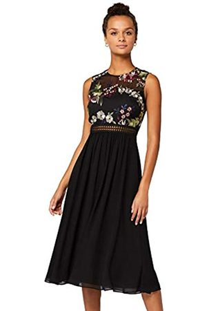 TRUTH & FABLE Amazon Brand - Women's Maxi Chiffon Dress, 6