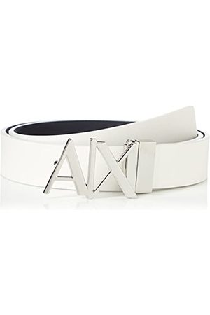 Armani Men's Everyday Logo Belt, ( /Navy- /Navy 41910)