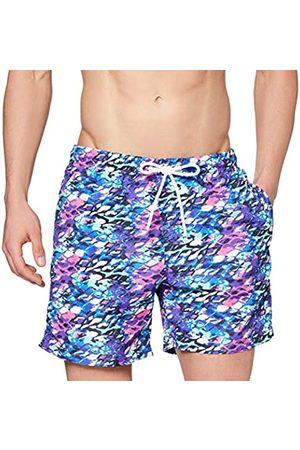 Urban classics Men's Badehose Multicolor Swim Shorts Trunks