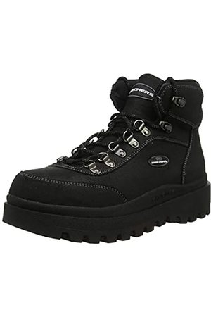 Skechers Women's SHINDIGS Ankle Boots, ( Oily Suede BBK)