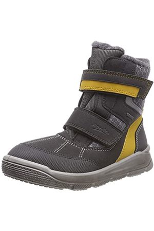 Superfit Mars,Boys' Snow Boots, (Grau/Gelb)